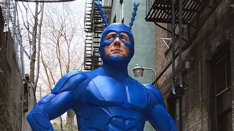The Tick Gets a Shiny New Costume for Amazon Series - IGN