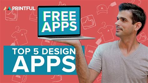 TOP 5 Free Design Apps For Creating T-Shirt Designs - YouTube