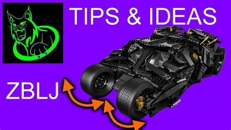 TIPS & IDEAS: Steering idea for the LEGO 76023 - UCS