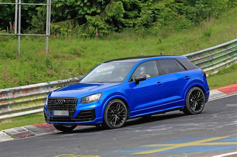 Audi SQ2 breaks cover at the Nürburgring with up to 300bhp