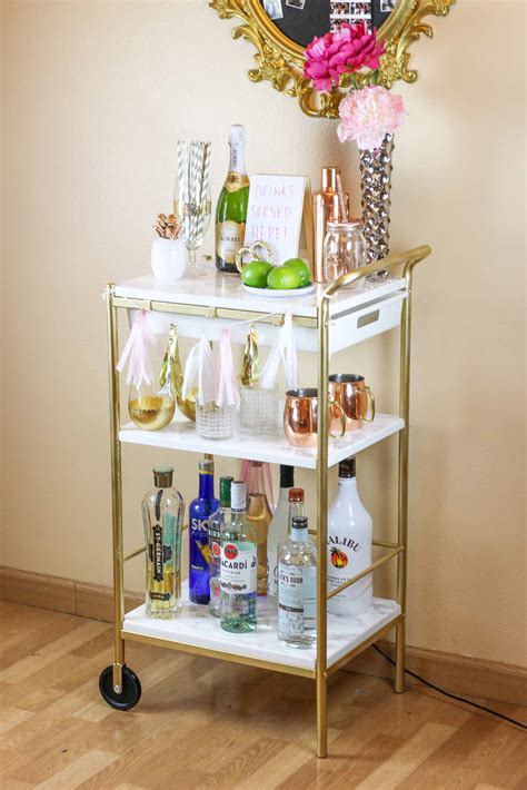 Dozen DIY Bar Carts: A Must-Have at Every House Party