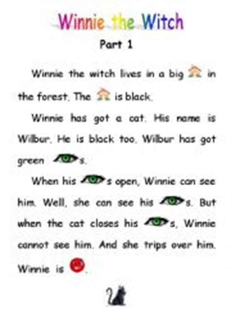 English Exercises: Winnie the witch