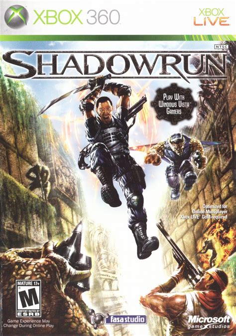 Shadowrun for Xbox 360 (2007) - MobyGames