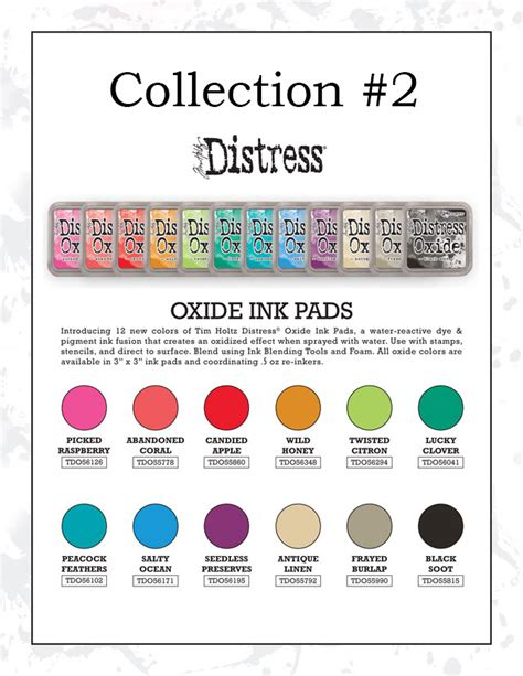 Ranger Distress Oxide Ink Pad Collection #2