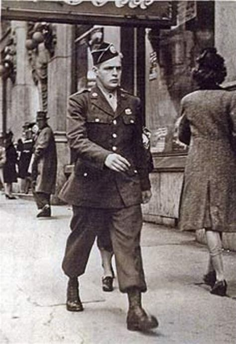 Don Malarkey on leave in Atlanta 1943   Band of brothers