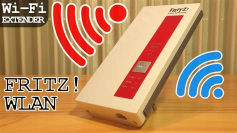 FRITZ!WLAN Repeater 1750e Wi-Fi Extender   Unboxing