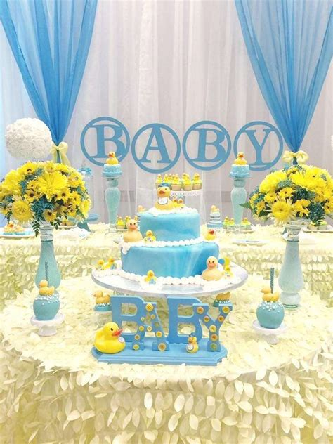 Rubber Ducky Baby Shower - Baby Shower Ideas - Themes - Games