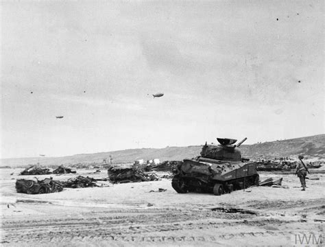 D-DAY - ALLIED FORCES DURING THE INVASION OF NORMANDY 6