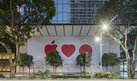 Secret's out: Singapore's first Apple Store is opening