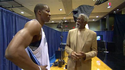 Dwight Howard wishes Bill Russell a Happy Birthday - YouTube