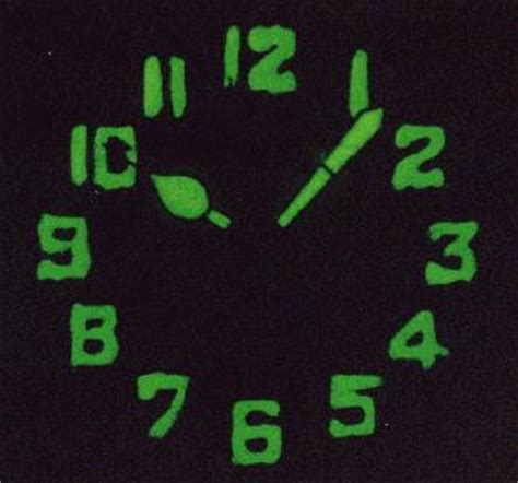 Radium Watch Dials Luminescent Glowing! Pictures