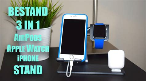 Bestand 3 in 1 AirPods/Apple Watch/iPhone Stand - YouTube