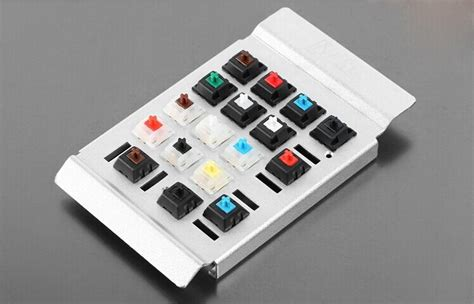 Cherry Kailh Gateron Green Clear White Switches Shaft