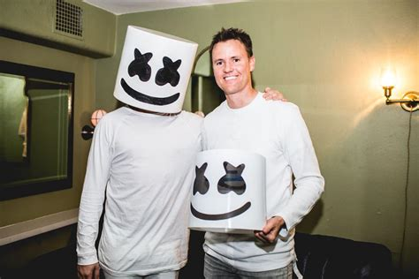 Take a Look at What's Inside a Marshmello Helmet