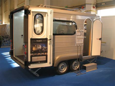 Combi trailer for for motorcycle and for camping