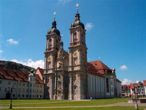 Traveling to Switzerland Abbey of St