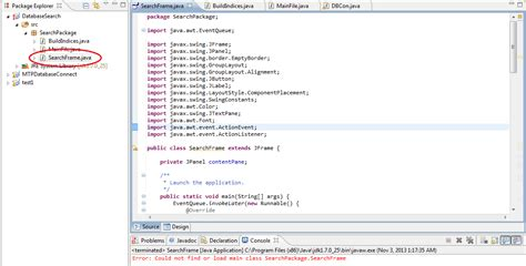 java - Could not find or load main class Eclipse - Stack