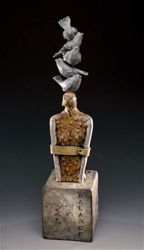 I create sculpture that is narrative of my life as a