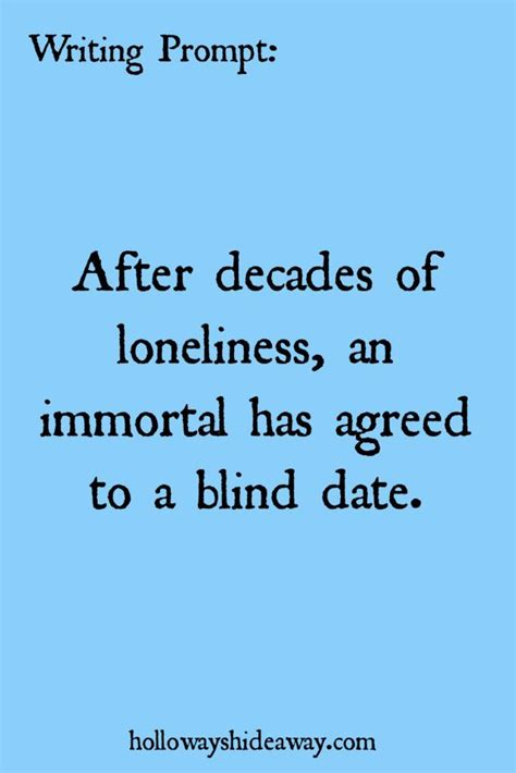 Writing Prompt-After decades of loneliness, an immortal