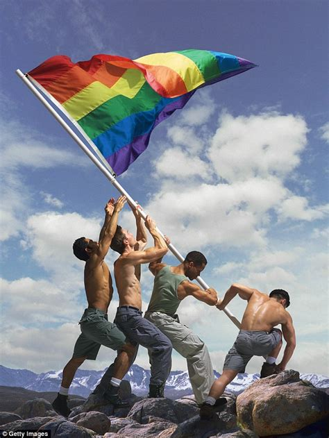 Ed Freeman who caused outrage with Rainbow flag in Iwo